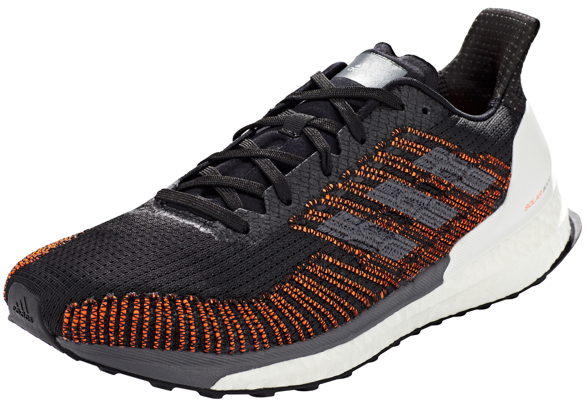 adidas Solar Boost 19 Running shoes Core Black Carbon Grey Five | 8 (UK)